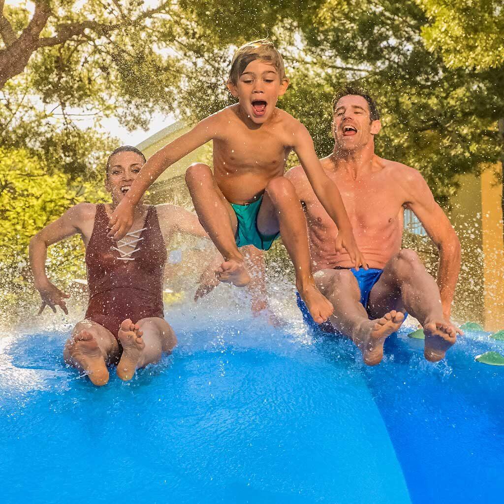 Juego para todas las edades Aquapark España Isaba