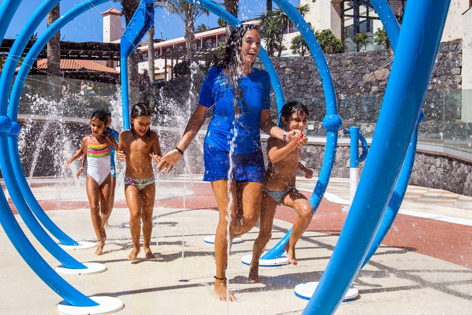 Que es un splashpark Isaba