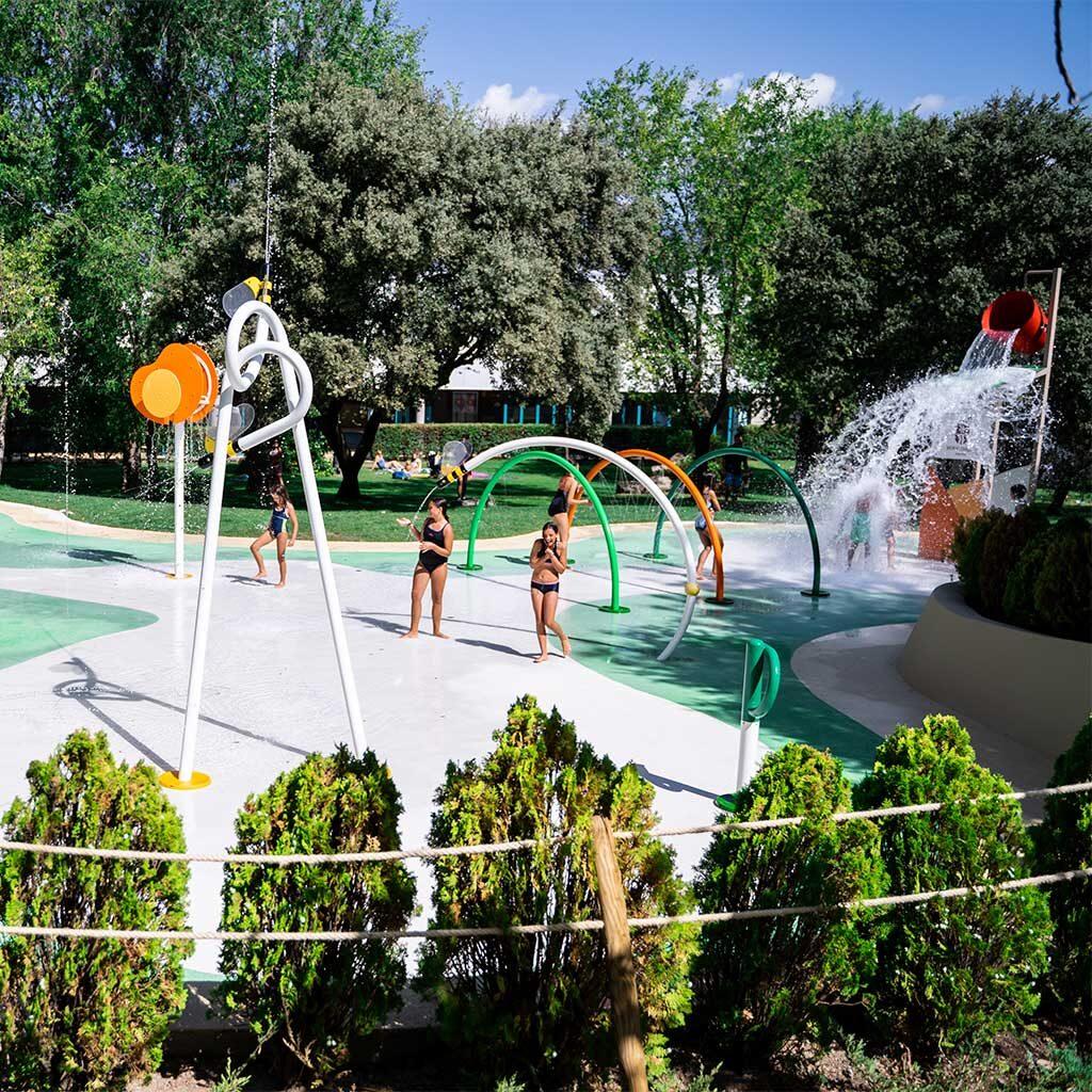 Ventajas de un splashpark Sostenibilidad Que es un splashpark Isaba